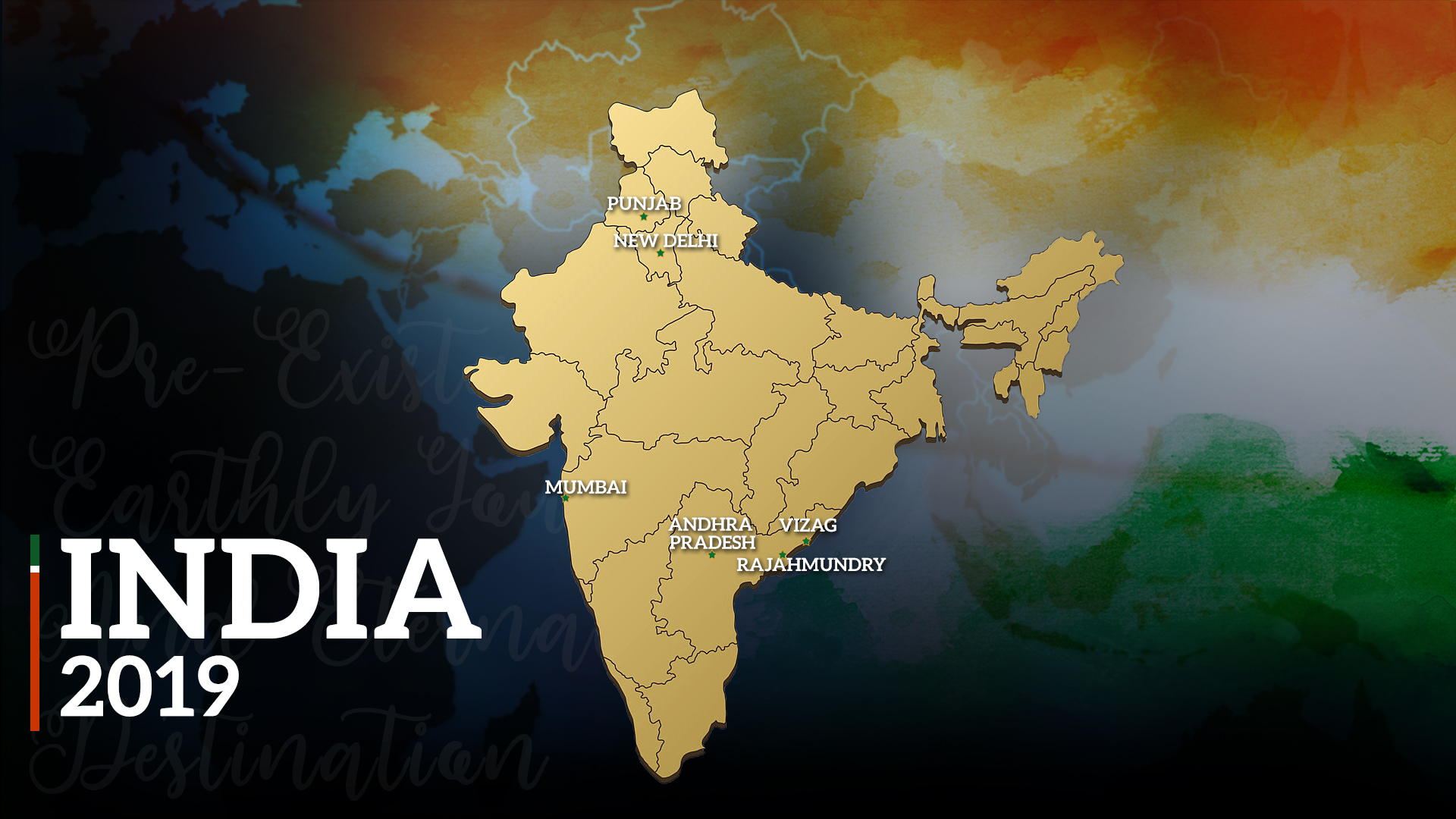 India ad 2019 MAP